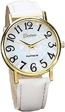 Relojes Pulsera Mujer,Xinan Digital Retro Dial Cuero Banda Relojes de Cuarzo
