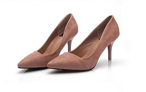 pengweiI pattini di alta qualit¨¤ degli alti talloni si adattano a bassi per aiutare i sandali della personalit¨¤ della bocca poco profonda Brown