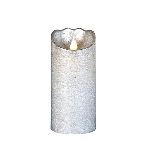 Luz LED de plata de 18 x 8 cm