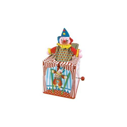 Tobar Jack In The Box, aus einer Schachtel springender Clown