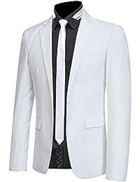 Veste de Costume Homme Blazer Jacket Blouson