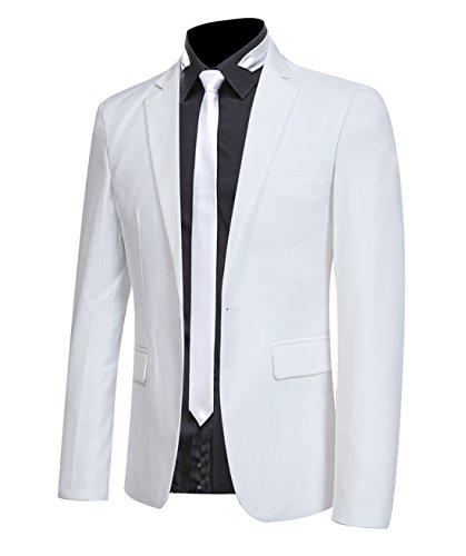 Veste de Costume Homme Blazer Jacket Blouso