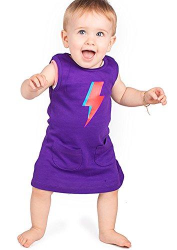 Baby Moo's Baby Mädchen (0-24 Monate) Kleid violett violett 6-12 Monate