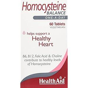 41K8AIrDaSL. SS300  - HealthAid Homocysteine - 60 Tablets