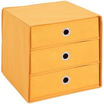 faltbox t by mit 3 schubk sten in anthrazit oder wei natur farbauswahl anthrazit. Black Bedroom Furniture Sets. Home Design Ideas