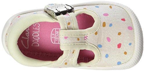 Clarks Baby Mädchen Choc Cake Krabbel-& Hausschuhe Beige (cotton)
