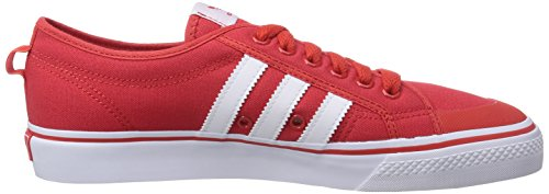 Adidas B35147, Herren Laufschuhe Mehrfarbig (Red/Ftwwht/Gum2)