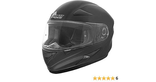Germot Gm 720 Full Face Helmet Matte Black Plus Size Helmet Two Sets Cheek Pads 4xl 67 68 Auto