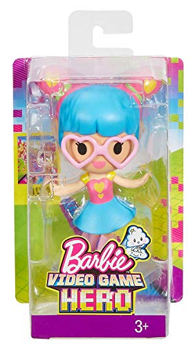 Mattel Barbie Video Game Hero Junior Doll - with Heart Glasses (Dww31)