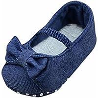 Sandalias para bebés y niñas de 0 a 12 meses, diseño de lazo, zapatos planos, zapatillas para niños, primavera, verano, zapatillas antideslizantes
