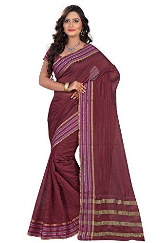 Poplin Womens Mysore Silk Sarees(POPLINMS08_Multi Colour)