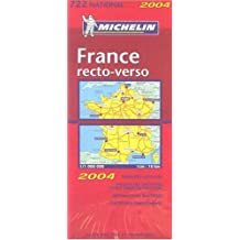 Carte routière : France recto/verso, N°11722