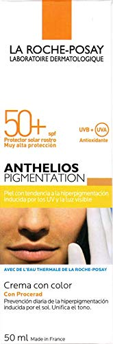 Anthelios Pigmentation 50+ Crema con color. 50 ml