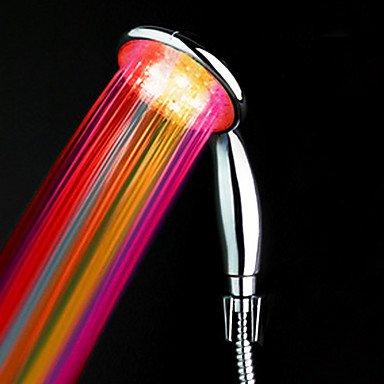 SHUIU ABS eau alimenté couleur douchette LED