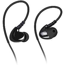 Auriculares in-ear, Mixcder SH302 Audífonos con Cable [Ligero] [Estéreo] [doble bobina de conducción y Alambre con Memoria Especialmente] para Escuchar Música, Cascos Cableados de Botón con Micrófono para Contestar Llamada Manos Libres, Conector de Audio de 3.5mm para iPhone 7, 7 Plus, 6S, 6, 6 Plus, 5S 5C 5 4S 4, Xiaomi Note 2, Note 3, Note 4, PC, Tablet -