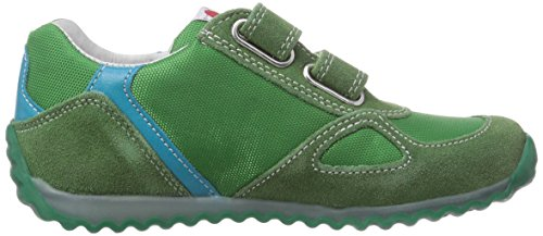 Naturino ISAO Unisex-Kinder Sneakers Grün (VERDE-COBALTO  9105)
