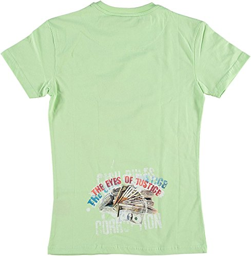 Mafia & Crime T-Shirt The Eye Of Justice Mint