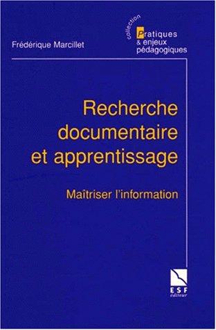 Recherche documentaire et apprentissage