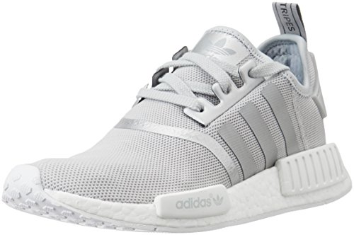 Sneakers Donna Adidas Original Sneaker Nmd_r1w Donna Argento Opaco / Argento Opaco