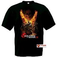 Comparador de precios Camiseta Gears of War 3 (Destroyer) manga corta negra (Talla: TallaXS Unisex Ancho/Largo [49cm/62cm] Aprox]) - precios baratos