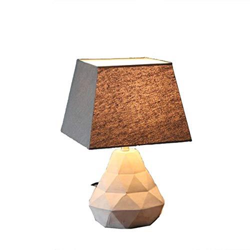 Ywqwdae Lampe Amerikanischen Stil Retro Zement Persönlichkeit Kreative LOFT Einfache Industrielle Wind Schlafzimmer Nachttisch Beleuchtung 3 Watt