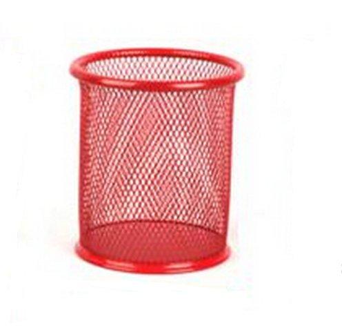 domire-circular-iron-coating-antirust-brush-pot-metal-pen-container-desktop-receive-a-barrel
