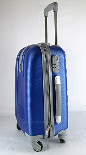 Trolley ryanair abs rigido cabina 4 ruote bagaglio a mano travelkit - Cabina ryanair ...