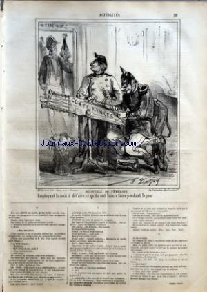 CHARIVARI (LE) du 27/06/1864 - P. VERON - LA SEMAINE DE LA BOURSE
