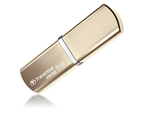 Transcend JetFlash 820G 8GB USB-Stick (Metallic-Gehäuse, USB 3.0) champagnerfarben
