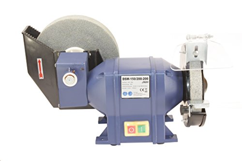 Preisvergleich Produktbild Nassschleifer, Doppelschleifmaschine, Doppelschleifer, Schleifbock 200W, DSM-150/200-200