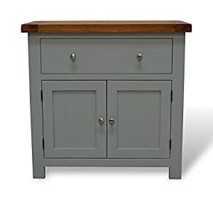 milton painted mini oak sideboard storage unit dresser. Black Bedroom Furniture Sets. Home Design Ideas