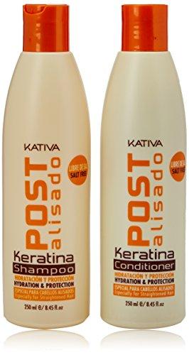 Kativa Tech Kativa Post Relaxer Kit X 2 Units (Shampoo + Conditioner 250 Ml X X 250 Ml)