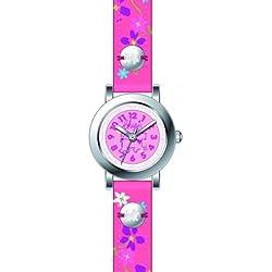 Chipie Mädchen-Armbanduhr Analog Kunststoff rosa 5209502
