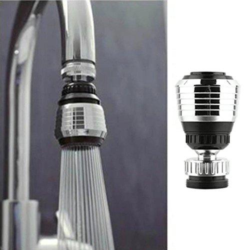 Winkey Küche Zubehör, 360Drehen Swivel Wasserhahn Düse Torneira Wasser Filter Adapter, Wasser Luftreiniger spart Wasserhahn Luftsprudler Diffusor (Wasserhahn Luftsprudler Adapter)