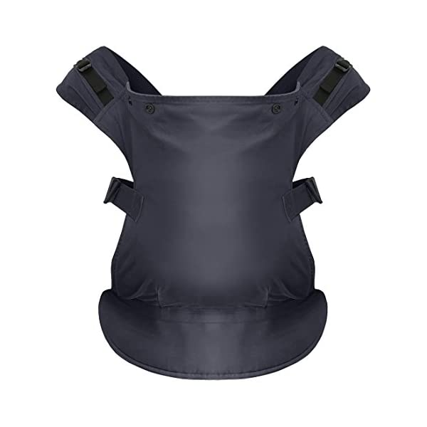 Izmi Toddler Carrier, Three Carry Positions, for Children Weighing 8kg-27kg, Midnight Blue Izmi Ideal for carrying your baby from 9months onwards (8kg-27kg/17.6lbs-60lbs) Adjustable seat width provides the best support from 9months onwards, whilst holding your little one in a hip healthy position 3 carrying positions: front carry, back carry and hip carry 1