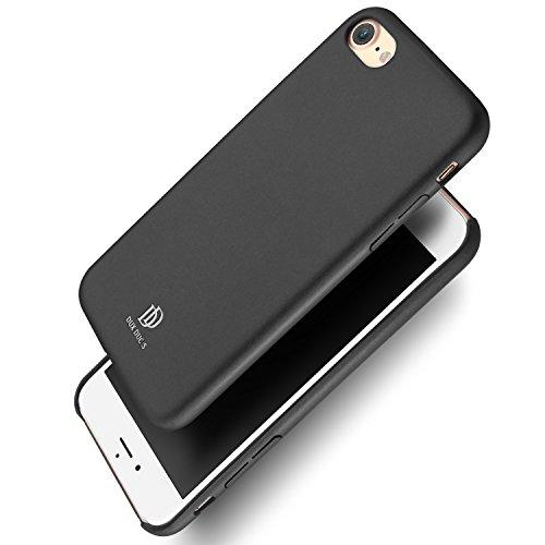 Galleria fotografica Cover Custodia iPhone 7 4,7'' Ecco Pelle PU, Slim Sottile Interno TPU Morbido, Case Premium Protezione Posteriore Flessibile DUX DUCIS (Grigio scuro)