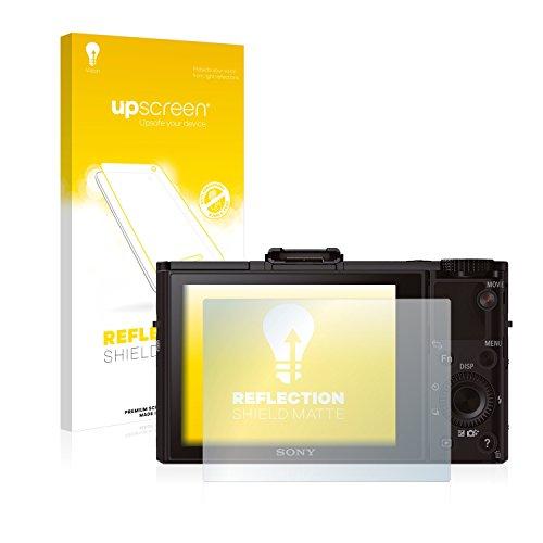 upscreen Matt Schutzfolie kompatibel mit Sony Cyber-Shot DSC-RX100 II - Entspiegelt, Anti-Reflex, Anti-Fingerprint -