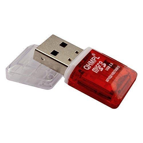 Sapna Megha Mart Quantum QHM 5570 T Flash/Micro SD Card Reader (Pack of 2)