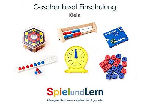 SpielundLern.de Schultüte Geschenkset Kinder (Klein) zur Einschulung mit 6 Artikeln (Waren Die Kleinen Hersteller)