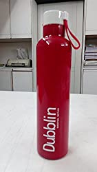 Dubblin Boom HOT & COLD Duro Steel Vaccum Insulated Water Bottle 900 ml- Red by House of Gift