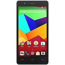 BQ Aquaris E5 LTE - Smartphone libre Android (pantalla 5 pulgadas, cámara 13 Mp, 16 GB, Qualcomm Snapdragon 1.2 GHz, 1 GB RAM), blanco y negro