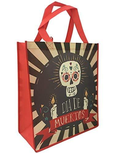 Halloween Tasche-Tag der Toten Tasche, Dia De Los Muertos mit Kerzen