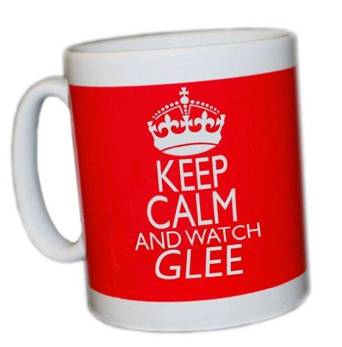Keep Calm and Watch Glee (rot) Tasse (Watch Glee)