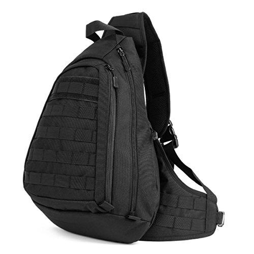 Jonon Vintage Militaire Hommes Toile Messenger Bag pour 13.3-17 Laptop (17.3