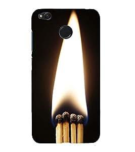 PrintVisa Designer Back Case Cover for Xiaomi Redmi 4 (4X) :: Redmi 4X (Fire A Pure Source of Light)