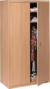 cs schmalm bel 55 24 kleiderschrank 24 soft plus buche. Black Bedroom Furniture Sets. Home Design Ideas