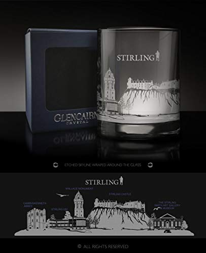 Glencairn Stirling Skyline Whisky-Spirituose, in Geschenkbox, 325 ml