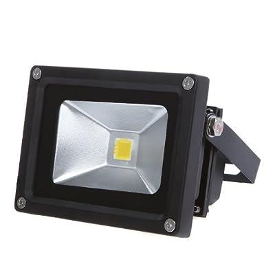 DODOCOOL 10W 85-265V LED Scheinwerfer Fluter, Flutlicht Wasserdichte Dekorative Lampe Außenstrahler Licht,Warmweiß von DODOCOOL auf Lampenhans.de