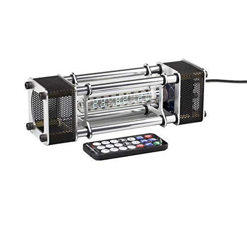BALALA BIAN Werkzeug-LED-Anzeige Montierte IV-18 Leuchtstoffröhre Uhr 6 Digitalanzeige Aluminiumlegierung Energiesäule mit Fernbedienung