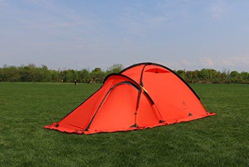 GEERTOP 20D 2-Person 4-Jahreszeiten Super Leicht Alpine Camping-Zelt - 8
